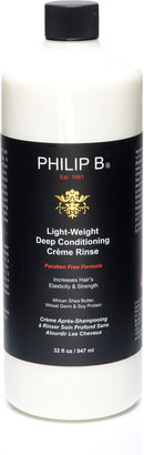 Philip B Light-Weight Deep Conditioning Creme RinseÂParaben Free Formula, 32 oz.