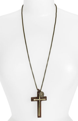Cara Couture Cross Pendant