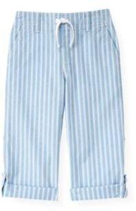 Janie and Jack Stripe Roll Cuff Pant