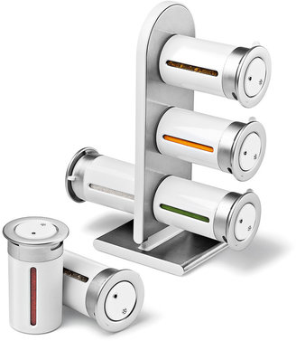 Zevro Zero Gravity Countertop Magnetic Spice Rack (6 PC)