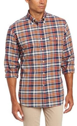 Nautica Men's Long Sleeve Plaid Shirt