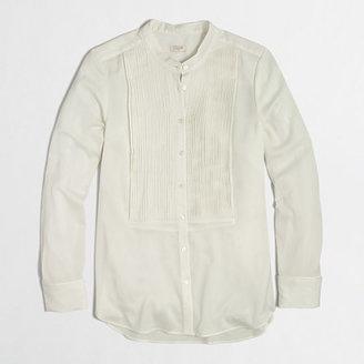 J.Crew Factory Factory tuxedo blouse