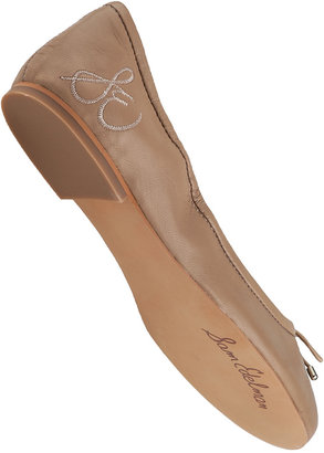 Sam Edelman Felicia Ballet Flat Burgundy Suede