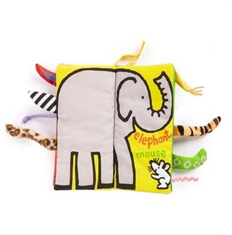 Infant 'Jungly Tails' Cloth Book $16.50 thestylecure.com