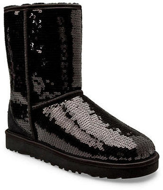 UGG Classic Sparkle Short Boots $189.95 thestylecure.com