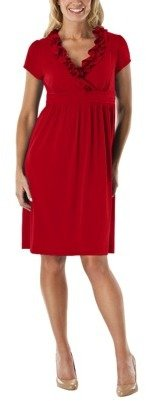 Merona Womens Ruffle Neck Dress - Assorted Color