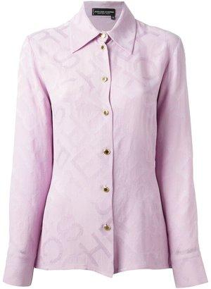 Jean Louis Scherrer Pre-Owned Jacquard Shirt