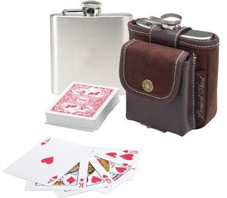 Picnic at Ascot Flask & Playing Cards