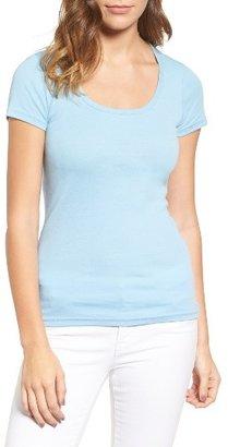 Women's Caslon Short Sleeve Scoop Neck Tee $22 thestylecure.com