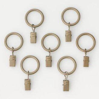 Peri 7-pk. Clip Curtain Rings