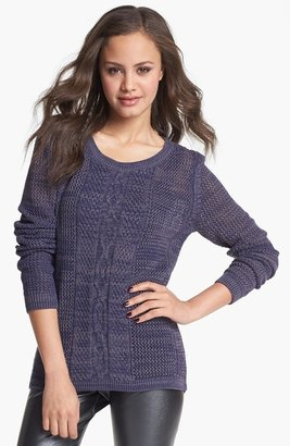 Rubbish Cable Knit Sweater (Juniors)