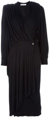Lanvin Vintage cross-over dress