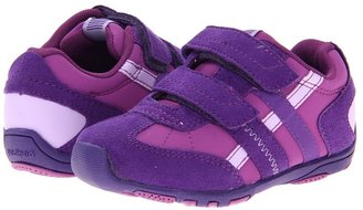 pediped Gretta Flex (Toddler/Little Kid) (Royalurple/Dewberry Synthetic) - Footwear