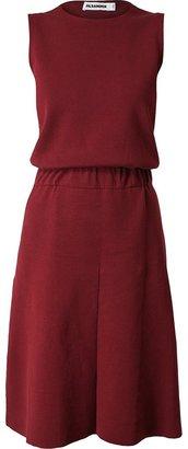 Jil Sander Knitted Cotton Dress