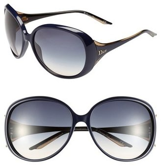 Christian Dior 'Cocotte' 63mm Oversized Sunglasses