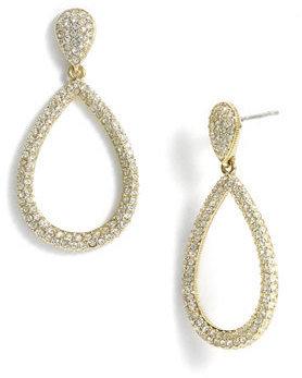 Nadri Women's Open Teardrop Earrings
