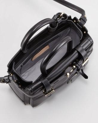 Reed Krakoff Boxer Micro Tote Bag, Gold/Black