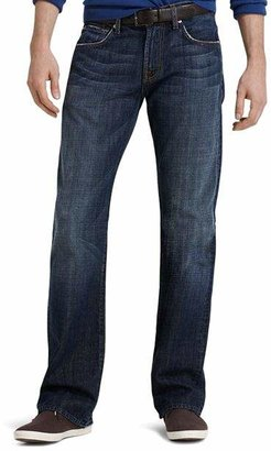 7 For All Mankind Brett A-Pocket Bootcut Fit Jeans in New York Dark
