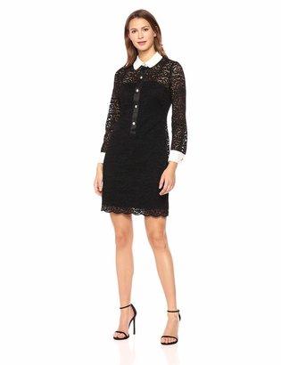 Anne Klein Women's LACE Sheath Dress