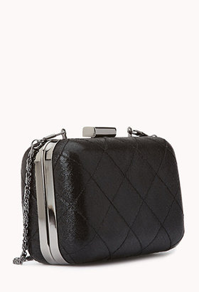 Forever 21 Iconic Quilted Minaudière