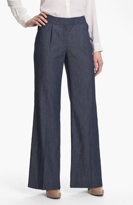 Halogen Wide Leg Denim Pants
