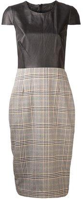 Jenni Kayne plaid skirt pencil dress