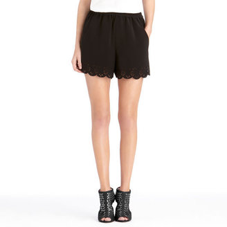 Rachel Roy Scalloped Shorts