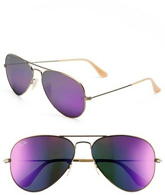 Ray-Ban 'Original Aviator' 58mm Sunglasses $175 thestylecure.com