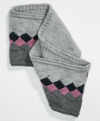 Levi's Colored Squares Infinity Scarf