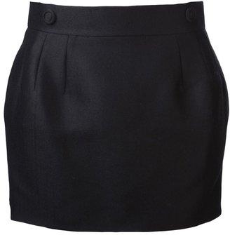 Viktor & Rolf double button short skirt