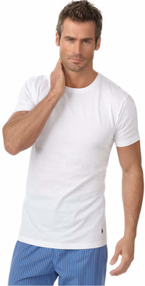 Polo Ralph Lauren Men's Underwear, Slim Fit Classic Cotton Crews 3 Pack $39.50 thestylecure.com