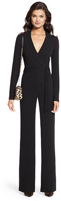 Margot Crepe Wrap Jumpsuit $598 thestylecure.com