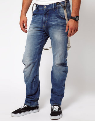 G Star G-star Jeans Tapered Arc 3D With Braces