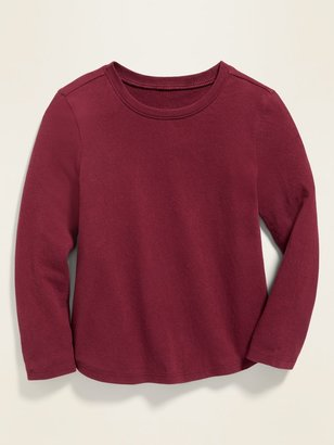 Old Navy Long-Sleeve Crew-Neck Tee for Toddler Girls