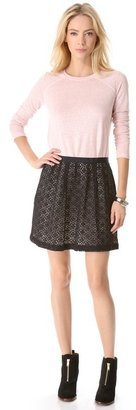 Marc by Marc Jacobs Collage Lace Skirt