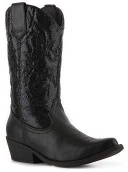 Madden-Girl Sanguine Reptile Western Boot