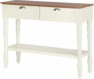 Argos Home Addington 2 Drw 1 Shelf Console Table