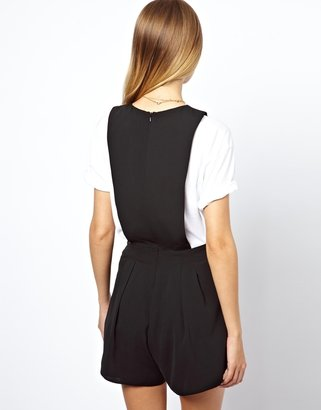 Asos Playsuit with Bow Front