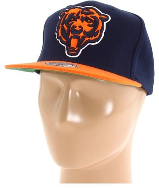 Mitchell & Ness NFL Throwbacks XL Logo 2-Tone Snapback - Chicago Bears (Chicago Bears) - Hats