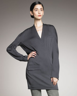 Haider Ackermann Mitchell Wrap Tunic