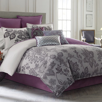 Bed Bath & Beyond Blissliving® Lacy Duvet Cover, 100% Cotton Sateen, 250 Thread Count