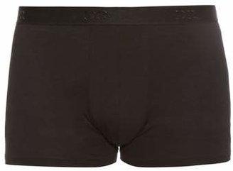 Derek Rose Jack Pima Cotton Boxer Trunks - Mens - Black