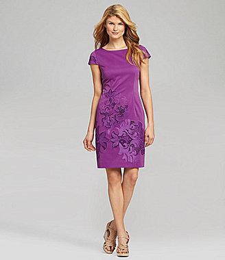 Antonio Melani Lulu Embroidered Dress