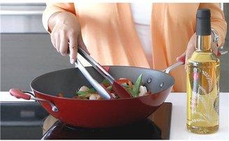 Steamy Kitchen Wok and Rice Bran Oil Set