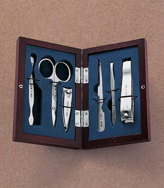 Jos. A. Bank 6-Piece Wooden Manicure Kit