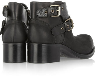 McQ by Alexander McQueen Leather ankle boots