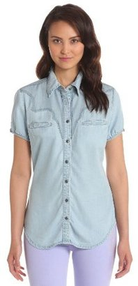 Blank NYC [BLANKNYC] Women's Button-Front Shirt