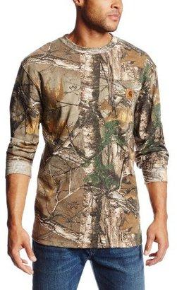 Carhartt Men's Work Camo Long Sleeve T-Shirt