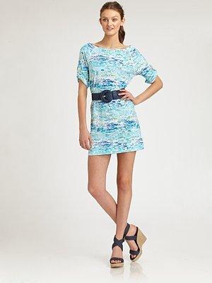 Lilly Pulitzer Raglan-Sleeve Printed Dress