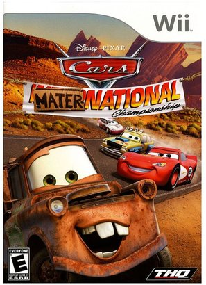 Nintendo wii TM disney © cars mater-national championship
